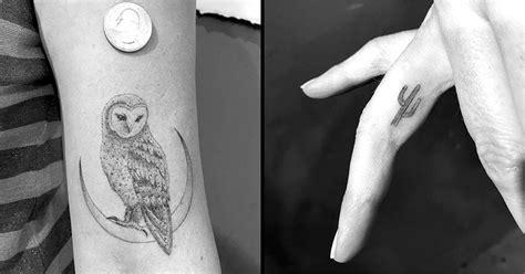miniature single needle tattoos  daniel winter tattoodo