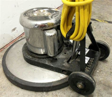 electric floor ls edic saturn model 20ls3 ss electric floor buffer