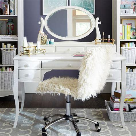 white desk with mirror makeup vanity set toronto makeup vidalondon
