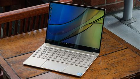 Huawei's New Matebook X Is Another Spin On A Modern Macbook Air  The Verge