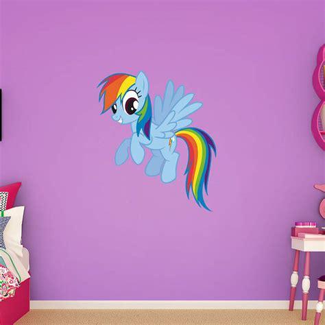 rainbow dash wall decal shop fathead    pony