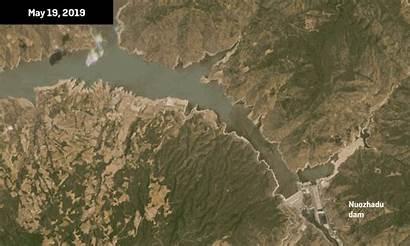 Mekong China River Dams Chinese Dam Shows
