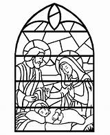 Pages Advent Coloring Printables Activity Stained Glass Printable Nativity Number Window Christmas Sheets Crafts Children Craft Any sketch template