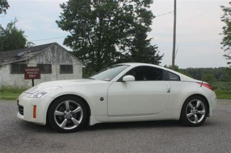 Buy Used 2008 Nissan 350z White, 6 Speed, Hr Motor, No