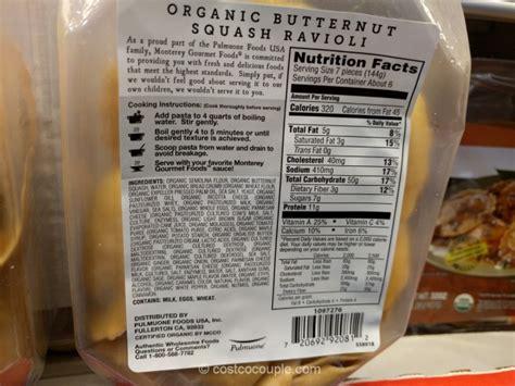 monterey gourmet foods organic butternut squash ravioli