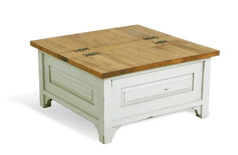 The cover of coastal living. Chateroux Shabby Chic Square French Trunk Coffee table | Coffee table, Home coffee tables ...