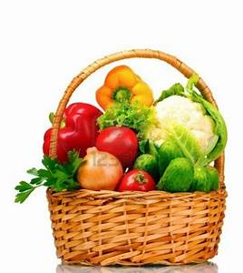 Best Photos of Basket Of Fruits And Vegetables - Fresh ...