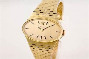 Rolex Damenuhr 60er Jahre In 18k Gelbgold Chronometrie