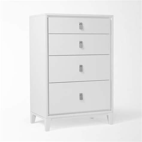West Elm Niche Nightstand by Niche 4 Drawer Dresser White West Elm 29 Quot W X 18 Quot D X 44