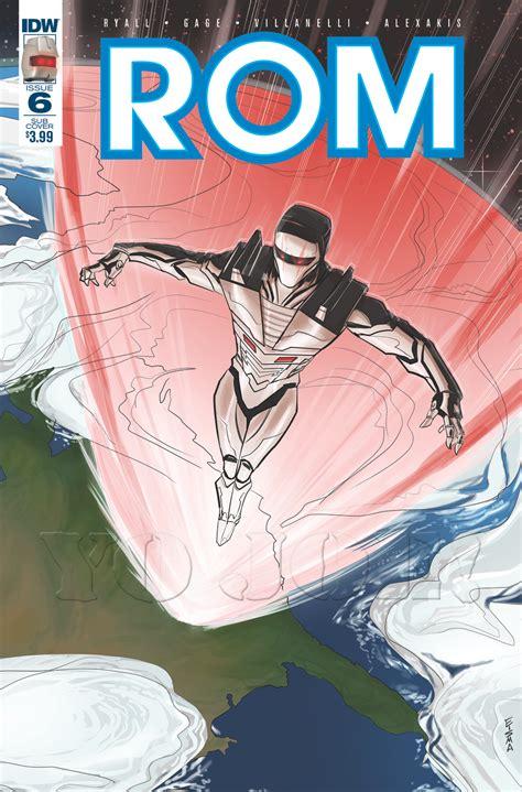 Rom 06revolution Rom Seriesgi Joe Comic Book Archive