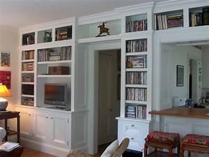 Bookcase, Built