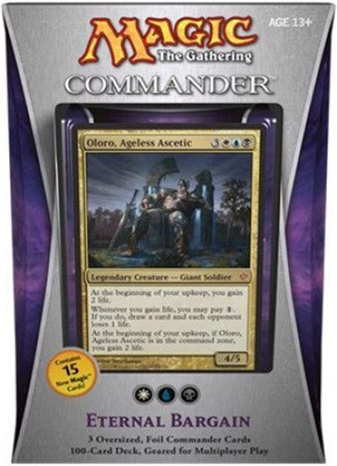 oloro commander deck ideas commander 2013 eternal bargain deck mtg magic the