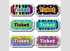 8 Best Images of School Free Printable Tickets Printable