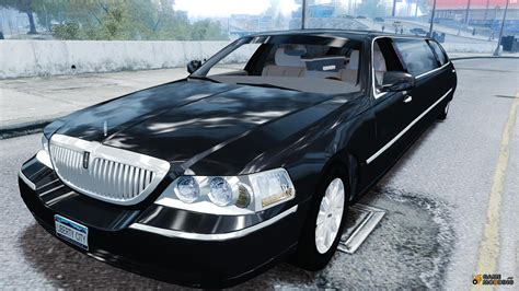 Lincoln Town Car Limousine 2006 For Gta 4