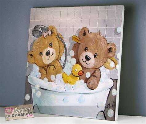tableau ourson chambre bébé tableau ourson salle de bain 53 vente tableau ourson pour