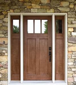 Craftsman, Style, Entry, Doors, As, A, Flashback, Of, The, Medieval, Times