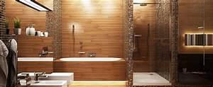 Salle De Bain En Bois : la salle de bains mademoiselle cocooning ~ Teatrodelosmanantiales.com Idées de Décoration