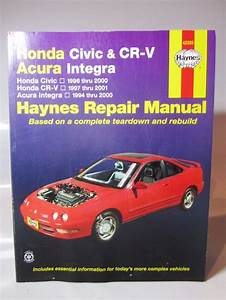Haynes Repair Manual 42025 Honda Civic 96 Cr