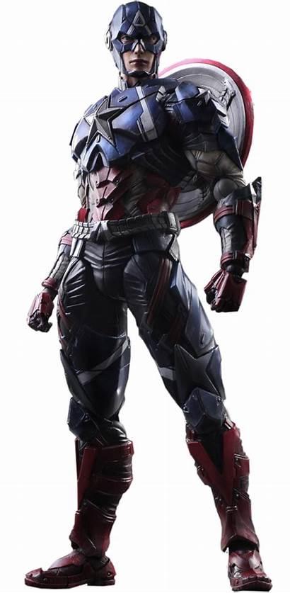 America Captain Variant Marvel Square Collectible Enix