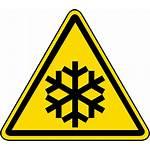 Temperature Low Hazard Label Warning Safety Symbols