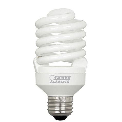feit electric 100w equivalent soft white t2 spiral cfl