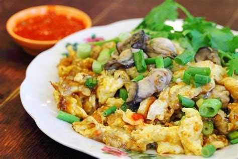 Teochew Oyster Omelette   KeepRecipes: Your Universal