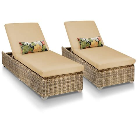 cape cod chaise set of 2 outdoor wicker patio furniture