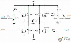 Motor - Is My Mosfet H-bridge Design Correct