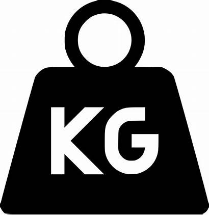 Weight Clipart Kilogram Icon Transparent Svg Webstockreview