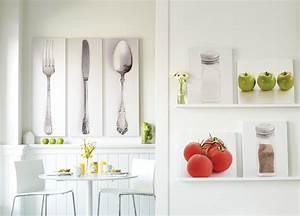 Modern kitchen wall art decoration pictures