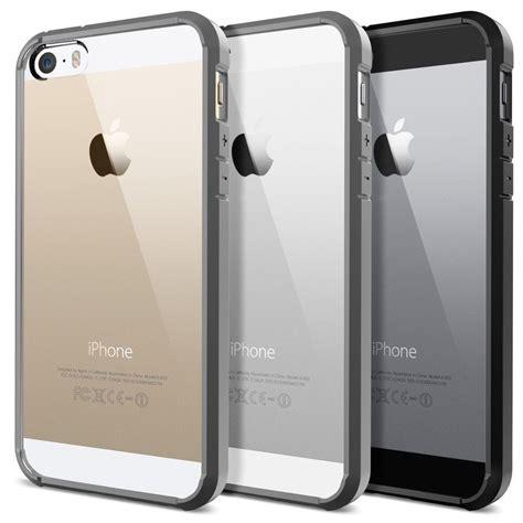 iphone 5s cases spigen ultra hybrid for iphone se 5s 5 ebay
