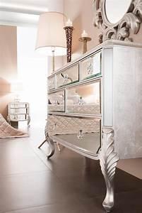 Mirrored Dresser - Bedroom Dresser - Florentine