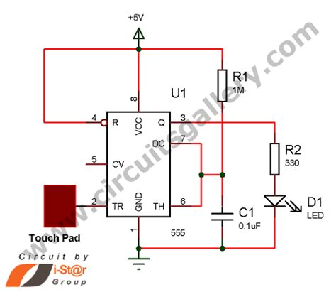 Touch Sensor Circuits Gallery