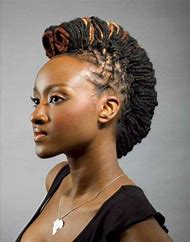 Women with Black Mohawk Hairstyles