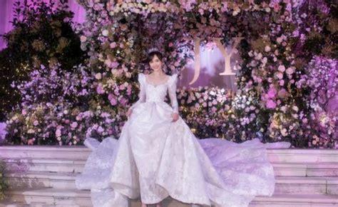 这几位女明星穿婚纱照,最后的装扮打满分都不够,你会喜欢谁_热巴