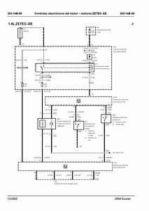 Ford Courier Diagrama De Cableado Parte 6
