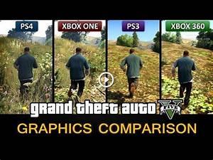 Cars 3 Xbox One : gta 5 graphics comparison ps4 xbox one ps3 xbox 360 ~ Medecine-chirurgie-esthetiques.com Avis de Voitures