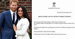 Prince Harry And Fiance Meghan Markle Have Announced