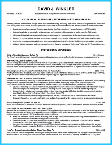Car Sales Manager Resume Exles by 1000 Ideas About Sales Resume On Executive