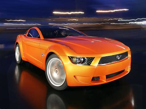 Fab Wheels Digest Fwd 2006 Ford Mustang Giugiaro Concept