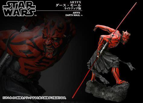 Star Wars Darth Maul Light Up Artfx Statue
