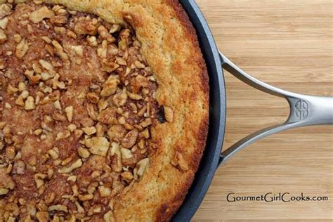 Add vanilla extract, almond extract, dissolved coffee, and brown gel color if using. Almond Flour Coffee Cake