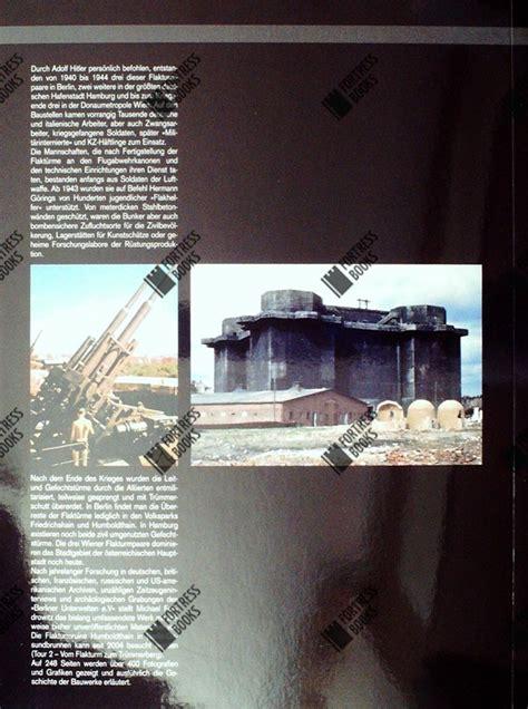 fortress books  flak towers berlin hamburg vienna