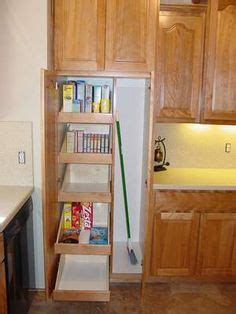 kitchen cabinet broom closet 1000 images about broom closet ideas on 5169