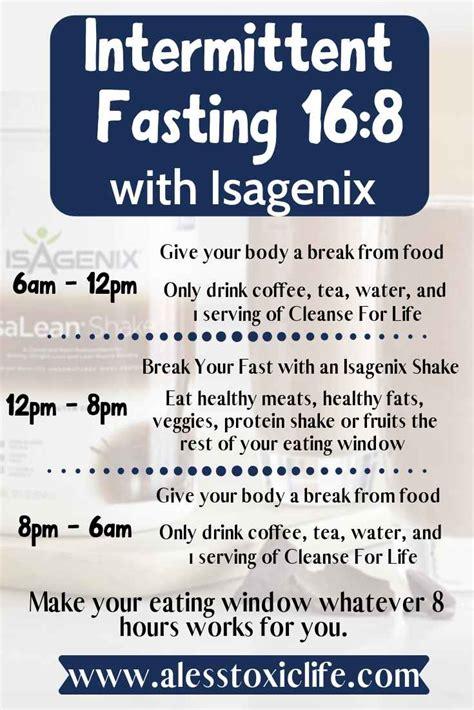 intermittent fasting  easier  isagenix