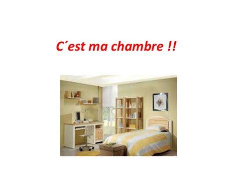c est ma chambre