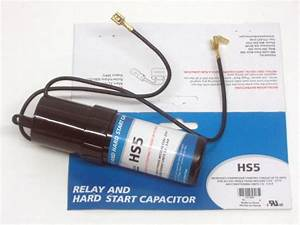 Hs5 Solid State Relay  U0026 Hard Start Capacitor For Spp5