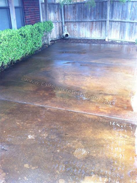 patio concrete staining coppell tx 15 esr decorative