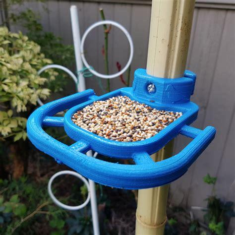 Bird Feeders Pole Mounted by Free 3d Printer Designs Bird Feeder Pole