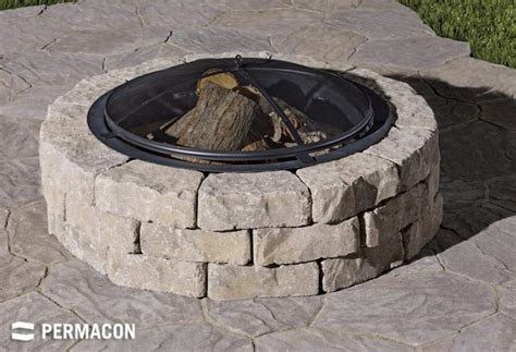 relaxing patio   fire pit
